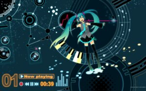 Rating: Safe Score: 12 Tags: hatsune_miku nagita thighhighs vocaloid wallpaper User: charunetra