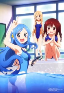 Rating: Questionable Score: 88 Tags: ass cleavage doma_umaru ebina_nana himouto!_umaru-chan kikuchi_ai swimsuits tachibana_sylphinford wet User: drop