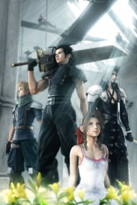 Rating: Safe Score: 35 Tags: aerith_gainsborough armor cg cleavage cloud_strife crisis_core dress final_fantasy final_fantasy_vii sephiroth square_enix summer_dress sword zack_fair User: Radioactive