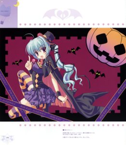 Rating: Safe Score: 13 Tags: halloween ice_&_choco nanao_naru thighhighs User: WtfCakes