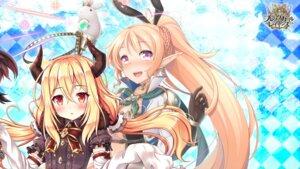 Rating: Safe Score: 15 Tags: akashio akatsuki_rabbit animal_ears brave_girl_ravens bunny_ears horns pointy_ears wallpaper User: zyll