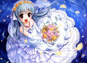 Rating: Safe Score: 57 Tags: august bekkankou daitoshokan_no_hitsujikai dress fixed ureshino_sayumi wedding_dress User: Anonymous