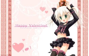 Rating: Safe Score: 61 Tags: hatsuyuki_sakura jpeg_artifacts saga_planets shirokuma thighhighs toranosuke valentine wallpaper User: bakatori