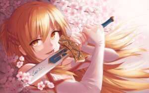 Rating: Safe Score: 5 Tags: asuna_(sword_art_online) sword sword_art_online tagme User: BattlequeenYume