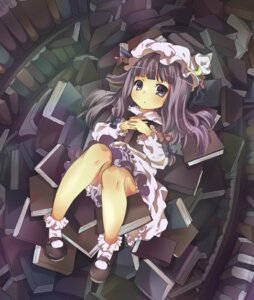 Rating: Safe Score: 21 Tags: maki_(makimaki) patchouli_knowledge touhou User: yumichi-sama