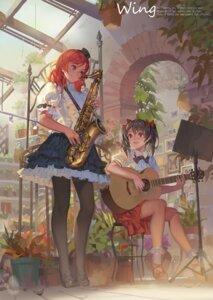 Rating: Safe Score: 70 Tags: alphonse guitar heels love_live! nishikino_maki pantyhose yazawa_nico User: Mr_GT