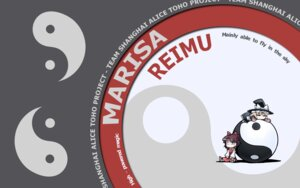 Rating: Safe Score: 5 Tags: hakurei_reimu kirisame_marisa tagme touhou wallpaper User: 543