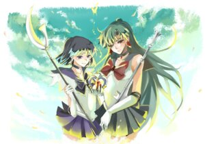 Rating: Safe Score: 5 Tags: meiou_setsuna nonrain sailor_moon tomoe_hotaru User: Radioactive