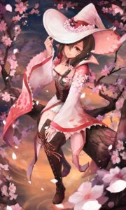 Rating: Safe Score: 44 Tags: cleavage crystalherb thighhighs witch User: BattlequeenYume