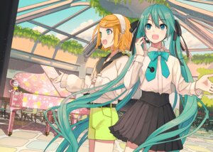 Rating: Safe Score: 29 Tags: hatsune_miku ixima kagamine_rin sweater vocaloid User: Mr_GT
