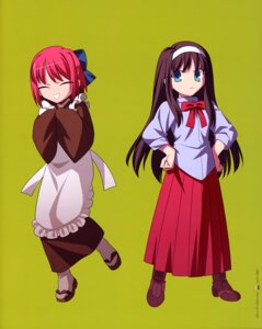 Rating: Safe Score: 10 Tags: chibi kohaku takeuchi_takashi toono_akiha tsukihime type-moon User: Aurelia