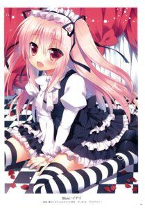 Rating: Safe Score: 57 Tags: dress gothic_lolita ichiri k-books lolita_fashion thighhighs User: Twinsenzw