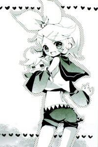 Rating: Safe Score: 6 Tags: ass kagamine_len kagamine_rin monochrome shimeko vocaloid User: Radioactive