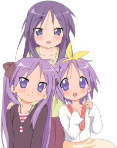 Rating: Safe Score: 18 Tags: hiiragi_kagami hiiragi_miki hiiragi_tsukasa lucky_star vector_trace User: usotsuki
