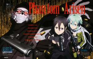 Rating: Safe Score: 21 Tags: death_gun gun gun_gale_online kirito sinon sword_art_online takata_akira weapon User: drop