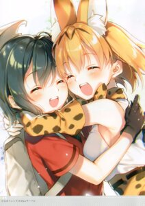 Rating: Safe Score: 6 Tags: kaban_(kemono_friends) kemono_friends serval toosaka_asagi User: kiyoe