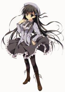 Rating: Safe Score: 68 Tags: akiyoshi_fuyuka feng heels kanojo_no_seiiki pantyhose ryohka seifuku User: DDD