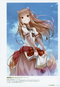 Rating: Safe Score: 17 Tags: animal_ears ayakura_juu holo spice_and_wolf tail User: kiyoe