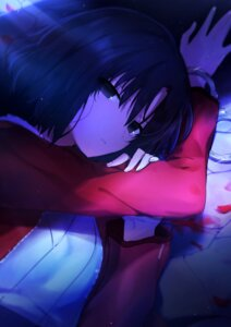 Rating: Questionable Score: 16 Tags: blood japanese_clothes kara_no_kyoukai okakasushi ryougi_shiki User: yanis