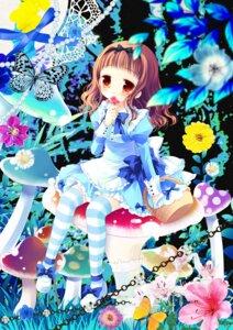 Rating: Safe Score: 24 Tags: dress higanbana_no_saku_yoru_ni kusunoki_midori sakurazawa_izumi thighhighs User: fairyren