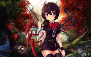 Rating: Safe Score: 23 Tags: dress houjuu_nue oto_taku thighhighs touhou wallpaper weapon wings User: osufaith