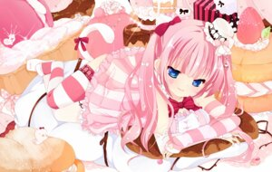 Rating: Safe Score: 54 Tags: gothic_lolita lolita_fashion sakuragi_yuzuki tail thighhighs User: Nekotsúh