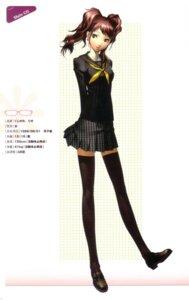Rating: Safe Score: 18 Tags: kujikawa_rise megaten persona persona_4 profile_page seifuku soejima_shigenori thighhighs User: admin2
