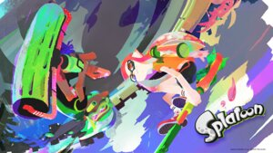 Rating: Questionable Score: 7 Tags: bike_shorts inkling_(splatoon) megane nintendo pointy_ears splatoon wallpaper User: fly24