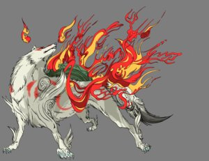 Rating: Safe Score: 7 Tags: amaterasu ookami tagme User: Radioactive