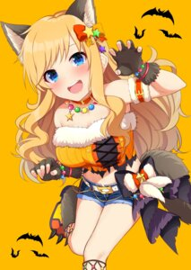 Rating: Safe Score: 22 Tags: animal_ears go-1 halloween ootsuki_yui tail the_idolm@ster the_idolm@ster_cinderella_girls User: Mr_GT