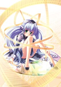 Rating: Safe Score: 14 Tags: heels hoshino_yumemi key komatsu_e-ji planetarian skirt_lift uniform User: marechal