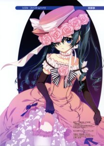 Rating: Safe Score: 56 Tags: ciel_phantomhive dmyo dress kuroshitsuji lolita_fashion snow_ring stockings thighhighs trap User: blooregardo
