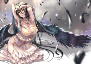 Rating: Safe Score: 67 Tags: albedo_(overlord) cleavage dress horns overlord piromizu wings User: Mr_GT