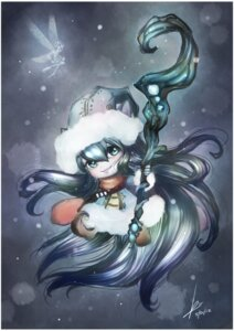 Rating: Safe Score: 11 Tags: animal_ears dress league_of_legends lulu_(league_of_legends) nekomimi wings User: charunetra