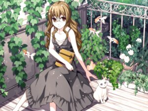 Rating: Safe Score: 33 Tags: dress megane neko torigoe_takumi User: blooregardo