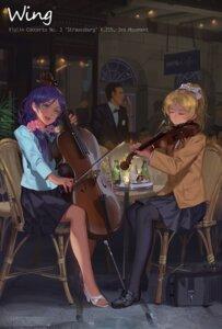 Rating: Safe Score: 58 Tags: alphonse ayase_eli heels love_live! pantyhose seifuku toujou_nozomi User: fairyren