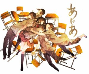 Rating: Safe Score: 14 Tags: china hana_(yui) hetalia_axis_powers hong_kong japan korea seifuku taiwan User: Radioactive