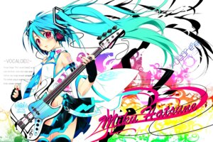 Rating: Questionable Score: 31 Tags: guitar hatsune_miku nopan shirokitsune vocaloid User: charunetra