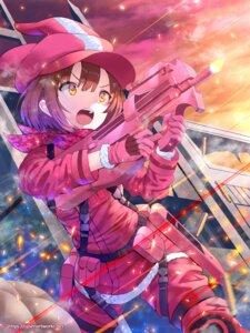 Rating: Safe Score: 41 Tags: gun gun_gale_online kohiruimaki_karen llenn sword_art_online_alternative:_gun_gale_online sysen uniform User: Spidey