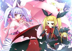 Rating: Safe Score: 19 Tags: blazblue dress mikan_(artist) rachel_alucard wings User: Radioactive