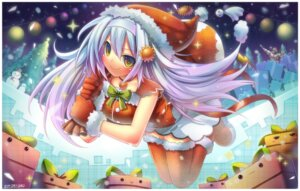 Rating: Safe Score: 15 Tags: christmas emperpep thighhighs User: blooregardo