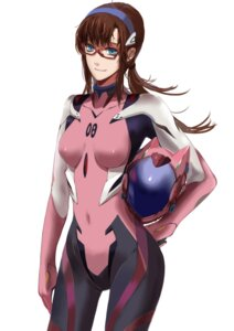 Rating: Safe Score: 35 Tags: bodysuit citemer makinami_mari_illustrious megane neon_genesis_evangelion User: charunetra
