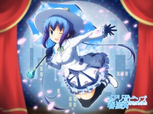 Rating: Safe Score: 27 Tags: aoki_lapis thighhighs vocaloid wallpaper yukizuki_kei_(yossa) User: fairyren