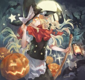 Rating: Safe Score: 21 Tags: avamone halloween kirisame_marisa touhou witch User: Mr_GT
