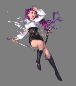 Rating: Safe Score: 10 Tags: azusa fire_emblem fire_emblem_heroes fire_emblem_three_houses heels nintendo petra_(fire_emblem) sword torn_clothes transparent_png uniform User: fly24