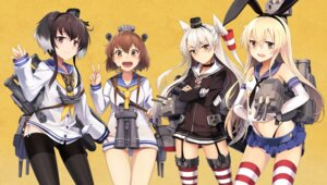 Rating: Safe Score: 62 Tags: amatsukaze_(kancolle) kantai_collection neko_(yanshoujie) pantsu rensouhou-chan rensouhou-kun seifuku shimakaze_(kancolle) stockings string_panties thighhighs thong tokitsukaze_(kancolle) yukikaze_(kancolle) User: Mr_GT