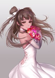 Rating: Safe Score: 89 Tags: ass dress g_scream love_live! minami_kotori no_bra nopan wedding_dress User: Mr_GT