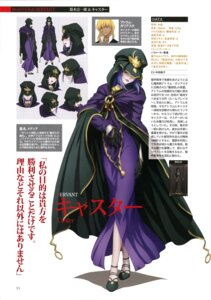 Rating: Safe Score: 17 Tags: caster character_design dress expression fate/stay_night User: drop