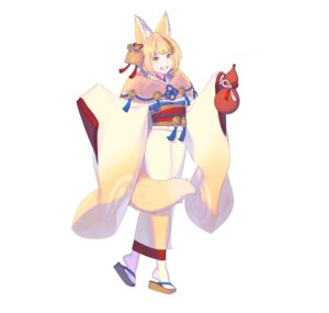 Rating: Questionable Score: 7 Tags: animal_ears enkyo_yuuichirou fire_emblem fire_emblem_heroes fire_emblem_if kimono kitsune nintendo selkie tail User: fly24