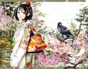 Rating: Safe Score: 8 Tags: kimono kuro_kichi shameimaru_aya touhou User: Radioactive